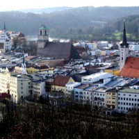 Panorama Wasserburg
