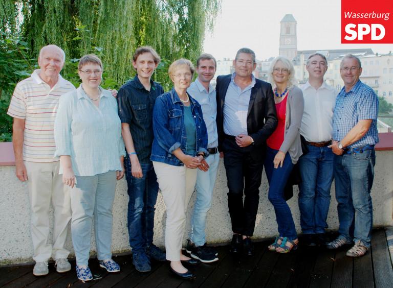 Vorstand SPD Wasserburg